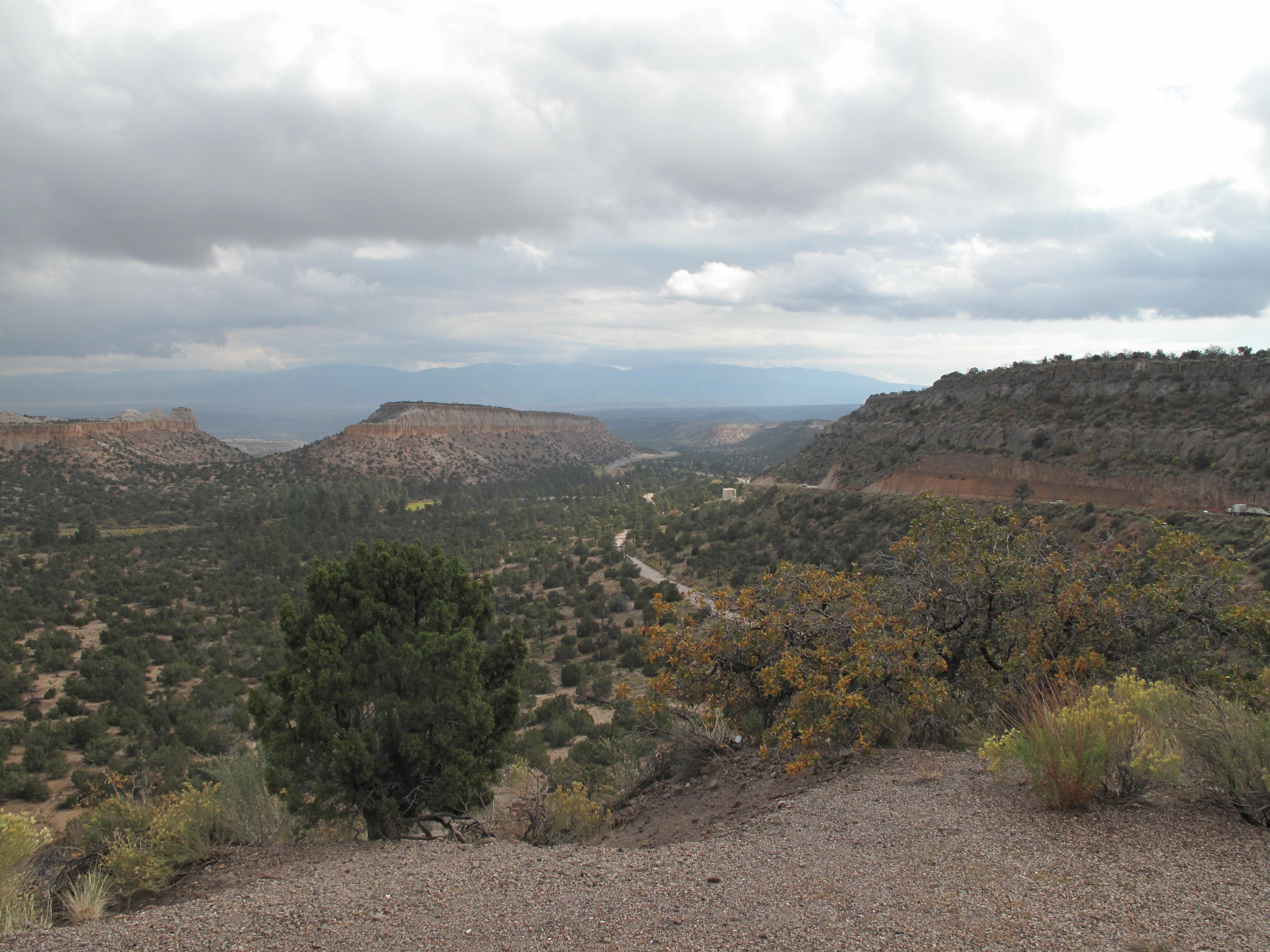 New mexico los alamos county los alamos - View Of Canyon Below Los Alamos New Mexico
