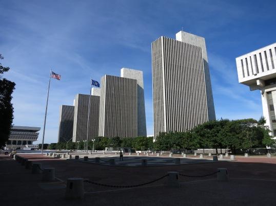 Governor Nelson A. Rockefeller Plaza, Albany New York