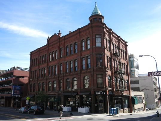 Gilded Age building on North Pearl Street, Albany